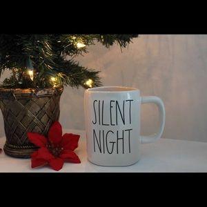 Rae Dunn Silent Night Christmas mug